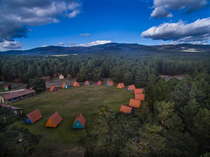 Campamento Sotolengo en invierno
