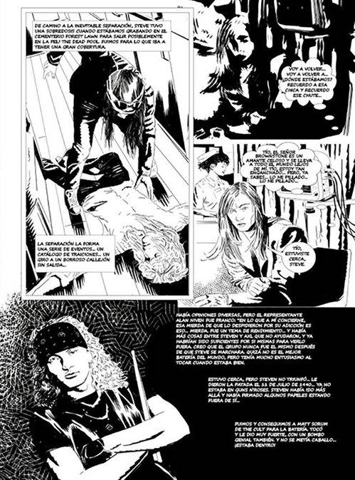 Foto Metallica Comic